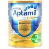 澳洲 爱他美(Aptamil)婴儿配方奶粉金装 2段 900g 适用6-12个月