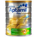 澳洲 爱他美(Aptamil)婴儿配方奶粉白金版 900g 2段 适用6-12个月